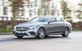 Mercedes-Benz E-Class E300de 2019 UK first drive review - on the road front