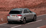 Mercedes-Benz GLE 400d 2019 UK first drive review - on the road rear