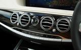 Mercedes-Benz S-Class S500L 2018 long-term review - air vents