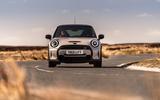 16 Mini Cooper S 2021 UK FD on road front