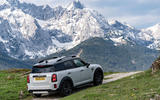 Mini Countryman Cooper S E All4 2020 first drive review - static rear