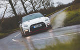 Nissan GT-R Nismo 2020 UK first drive review - cornering front