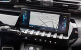 Peugeot 508 Hybrid4 2020 first drive review - navigation
