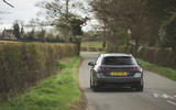 16 Peugeot 508 PSE 2021 UK first drive review on road rear