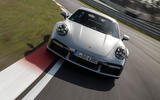 Porsche 911 Turbo S 2020 first drive review - track nose