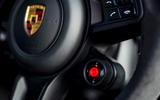16 Porsche Cayenne Turbo GT 2021 UK FD drive mode dial