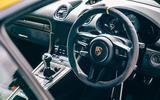 Porsche Cayman GTS - interior