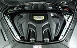 Porsche Panamera e-Hybrid 2020 UK first drive review - engine