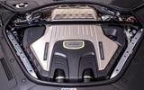 16 Porsche Panamera Turbo S E Hybrid ST 2021 UK FD engine