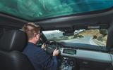 Range Rover Evoque 2019 first drive review - Matt Saunders driving