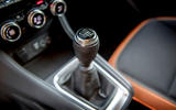 Renault Captur 2019 first drive review - gearstick