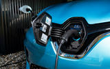 Renault Zoe 2020 UK first drive review - charging port
