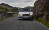 Rolls Royce Ghost on the road