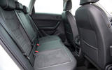 Seat Ateca Xperience 2020 UK first drive review - rear seats