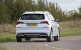 Skoda Kamiq 2019 UK first drive review - on the road rear