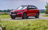 16 Skoda Kamiq Monte Carlo 2021 UK first drive static front