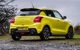 Suzuki Swift Sport 2018 review static rear