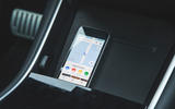 Tesla Model 3 Performance 2019 first drive review - smartphone tray