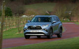 16 Toyota Highlander 2021 UK first drive review on road front