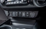 Toyota Hilux Invincible X 2020 UK first drive review - offroad controls