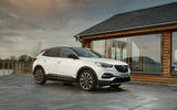 Vauxhall Grandland X Hybrid4 2020 UK first drive review - static front