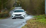 16 Vauxhall Insignia GSI 2021 UK first drive review splash
