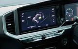 16 Vauxhall Mokka e 2021 UK first drive review infotainment