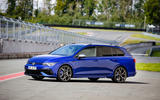 16 Volkswagen Golf R Estate 2021 first drive static front