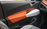 Volkswagen ID 3 2020 UK first drive review - door cards