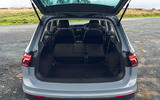 Volkswagen Tiguan Life 2020 UK first drive review - boot