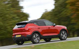 Volvo XC40 2018 long-term review - driving park rear
