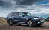 Volvo XC90 B5 petrol 2020 UK first drive review - static front