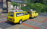 Defender hearse conversion - reliant hearse