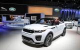 Range Rover Evoque Convertible winners losers