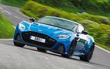 Aston Martin DBS Superleggera - tracking front
