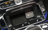 Mercedes-Benz E 350 d USB charging port