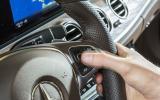 Mercedes-Benz E-Class steering wheel controls