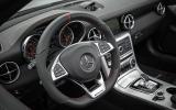 Mercedes-AMG SLC 43 steering wheel