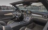Mercedes-AMG C 63 S Cabriolet interior