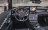 Mercedes-AMG C 63 S Cabriolet dashboard