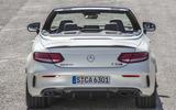 Mercedes-AMG C 63 S Cabriolet rear
