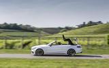 Mercedes-AMG C 63 S roof folding