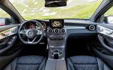 Mercedes-Benz GLC Coupé dashboard