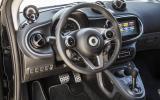 Smart Fortwo Cabrio dashboard