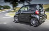 Smart Brabus Fortwo rear cornering