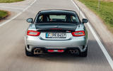 Abarth 124 GT review 2018 on the road rear