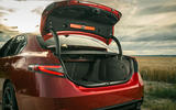 Alfa Romeo Giulia Quadrifoglio 2020 UK first drive review - boot