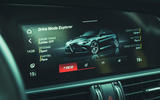 17 Alfa Romeo GTAm 2021 UK LHD fd infotainment