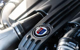Alpina B5 Touring 2018 UK first drive review - engine