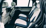 17 Alpina XB7 2021 UK first drive review rear seats